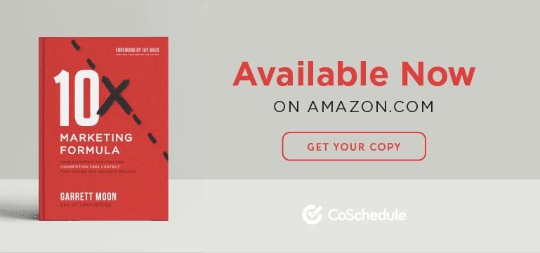Order the 10X Marketing Formula on Amazon.com
