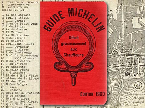 Early example of content marketing from Michelin Tires.