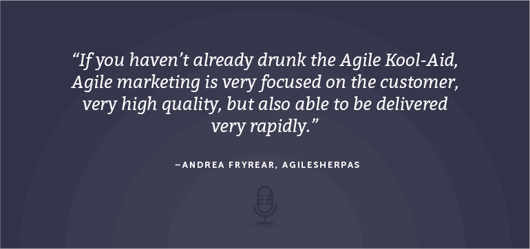 The Case For Agile Marketing With Andrea Fryrear From