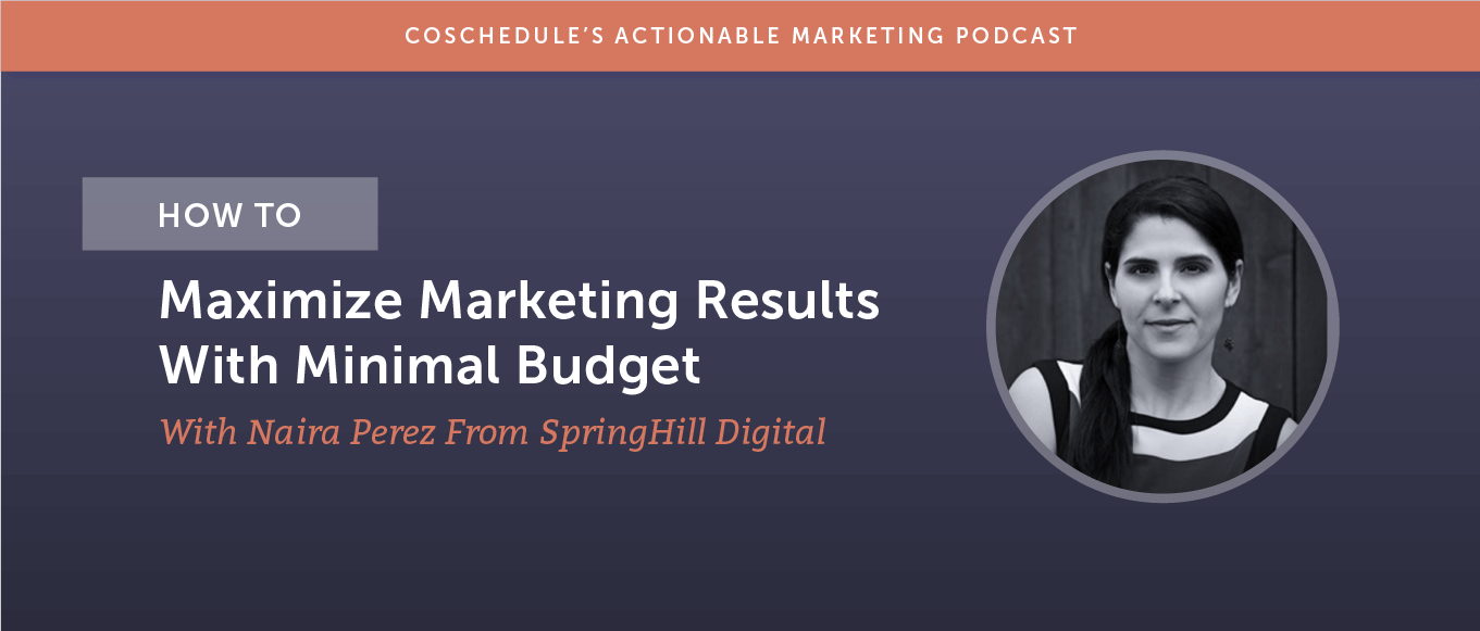 How to Maximize Marketing Results With Minimal Budget With Naira Perez From SpringHill Digital [AMP 185]