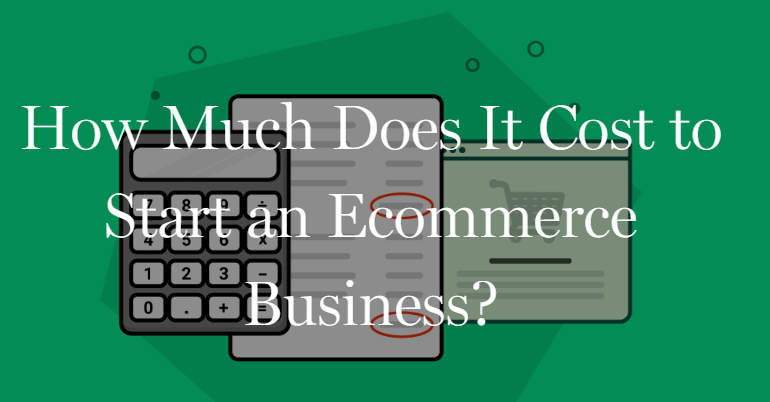 "Foundr article ""How much does it cost to start an Ecommerce Business?"" header screenshot"