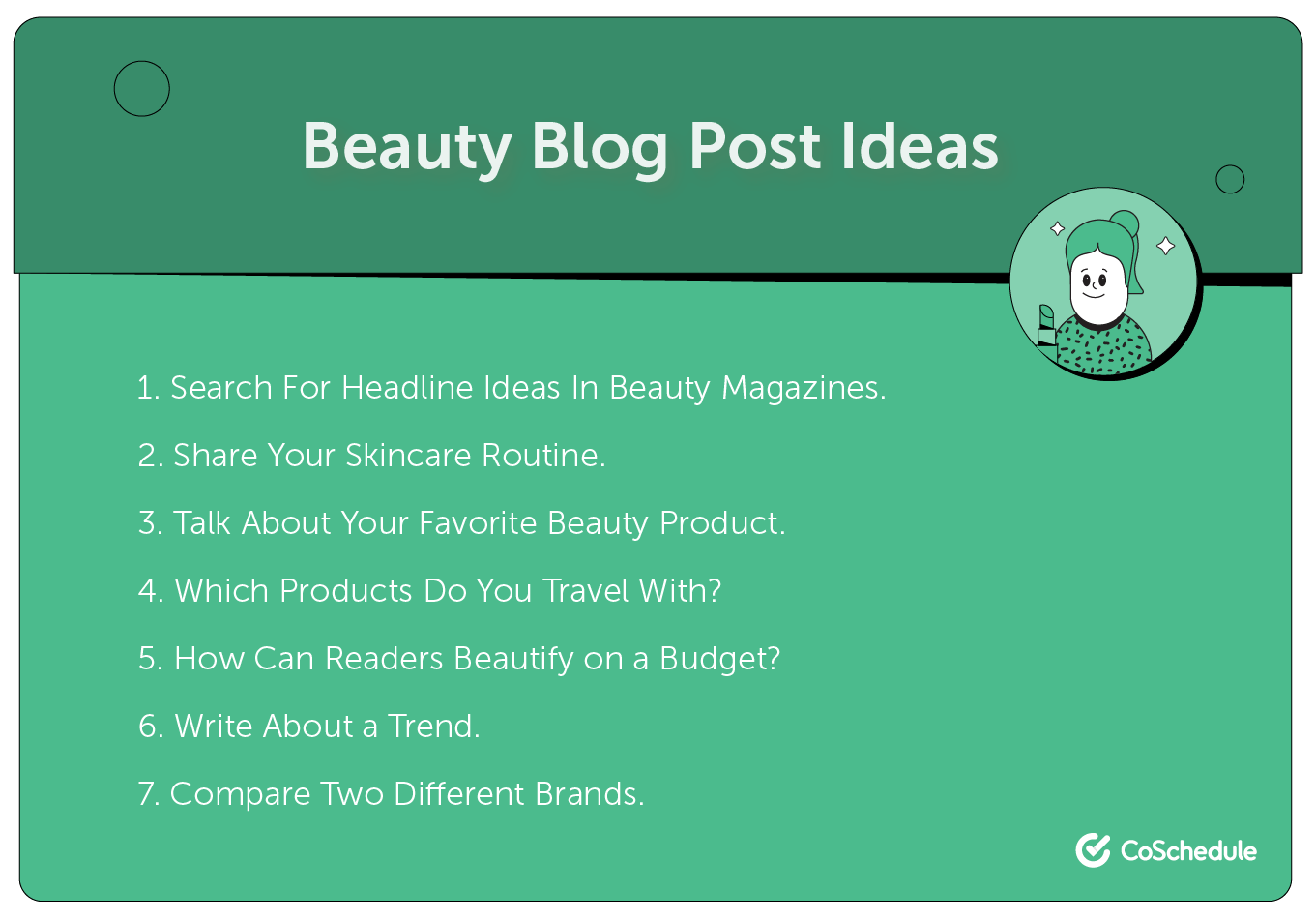 Beauty blog post ideas.