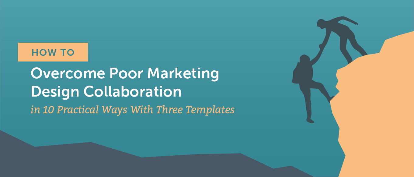 How to overcome poor marketing design collaboration header