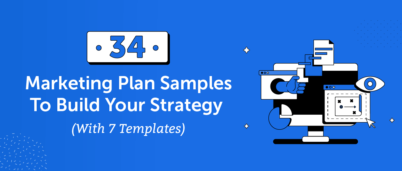 34 marketing plan samples to build your strategy (with 7 templates) header.