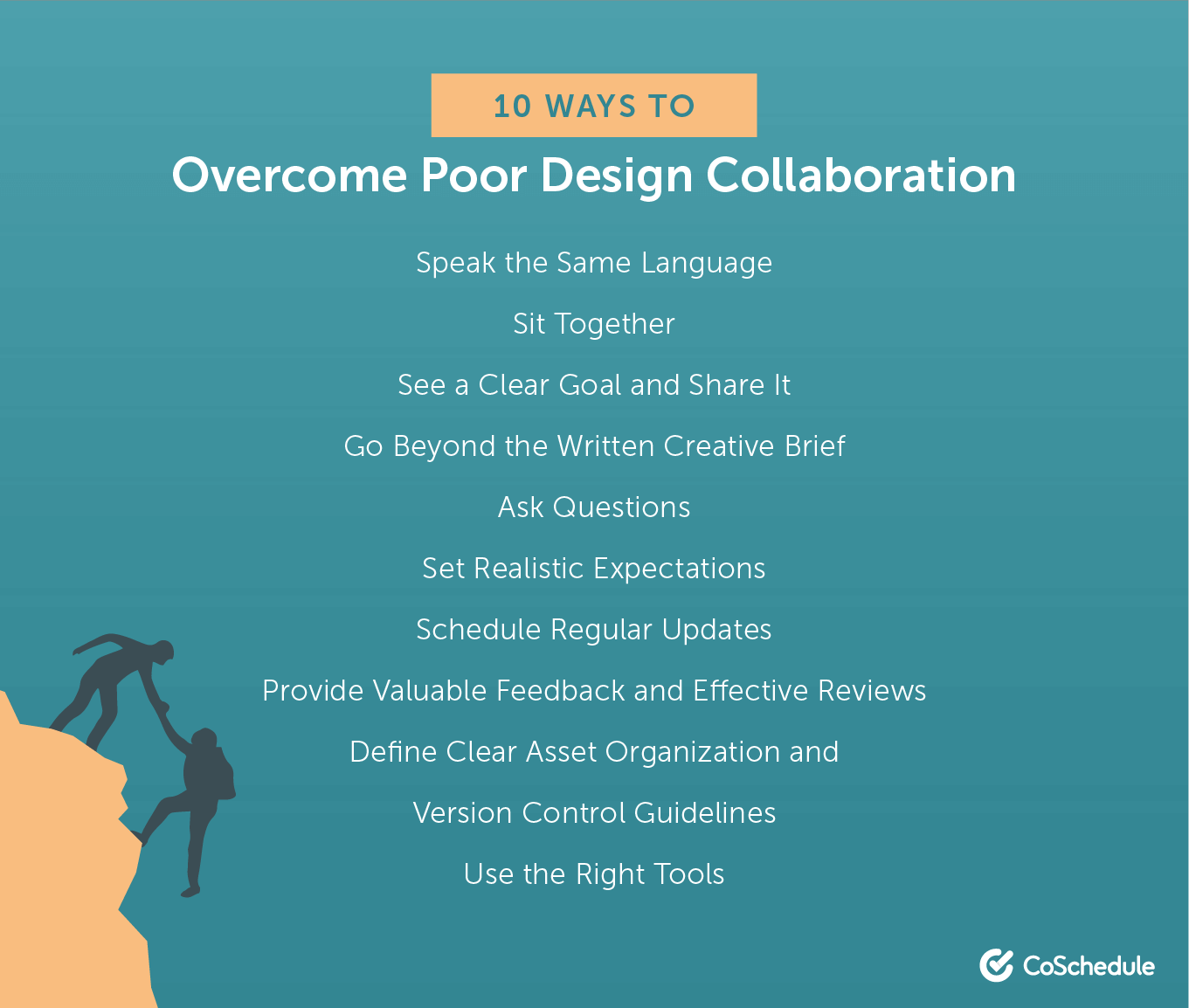 10 ways to overcome poor design collaboration