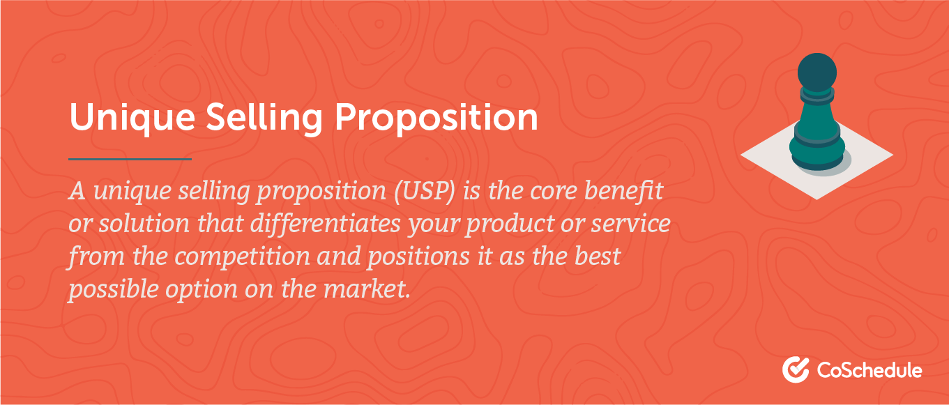 Definition of the unique selling proposition