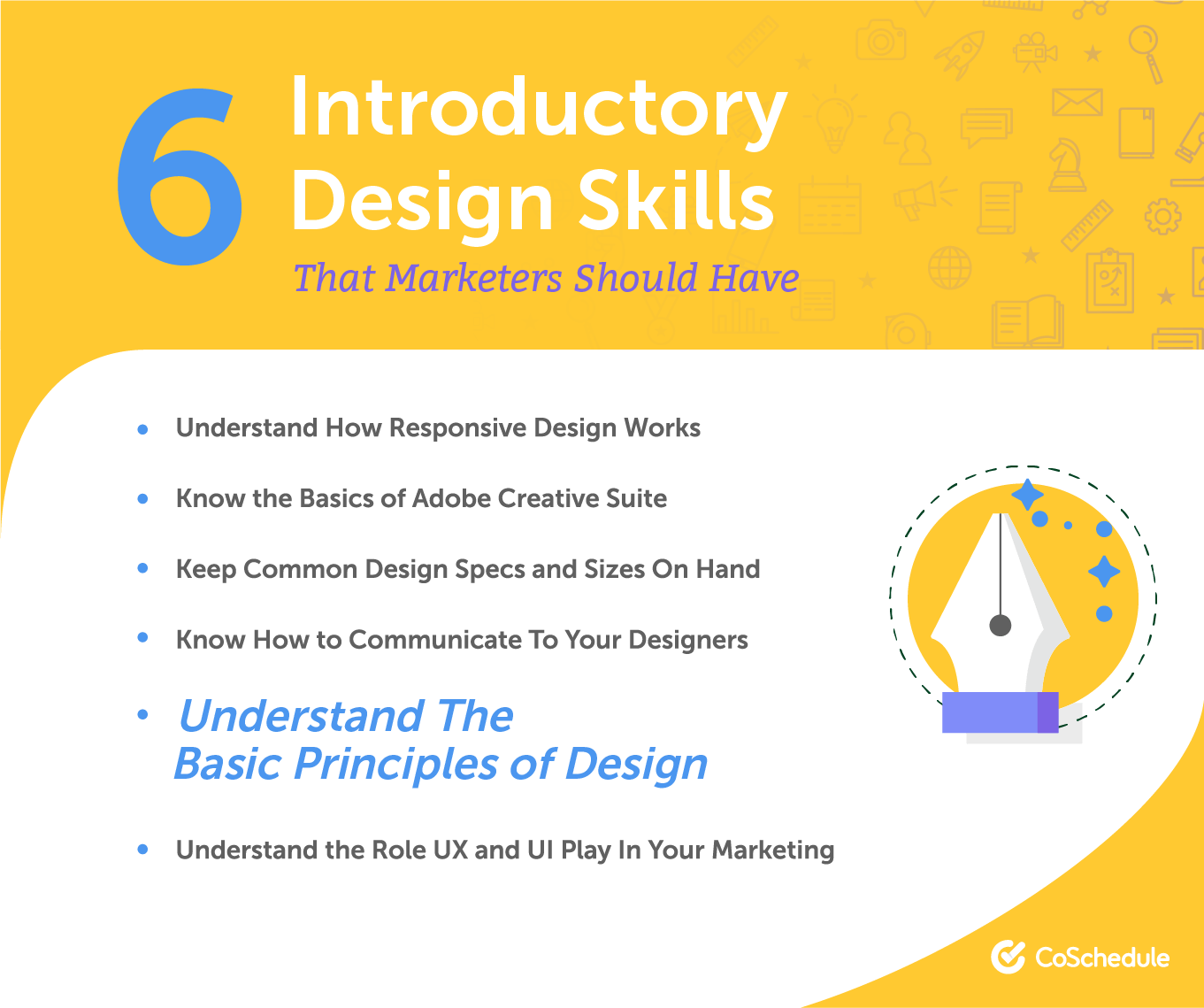 6 introductory design skills marketers should have.