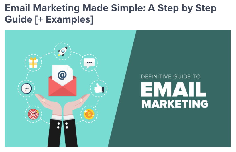 Optin Monster's step by step guide to easy email marketing.