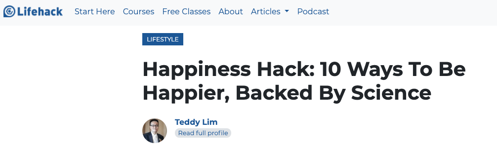 Headline by Lifehack