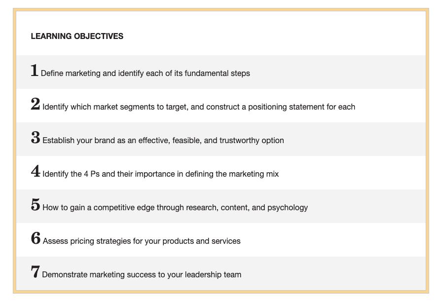 Marketing fundamentals from MarketingProfs.