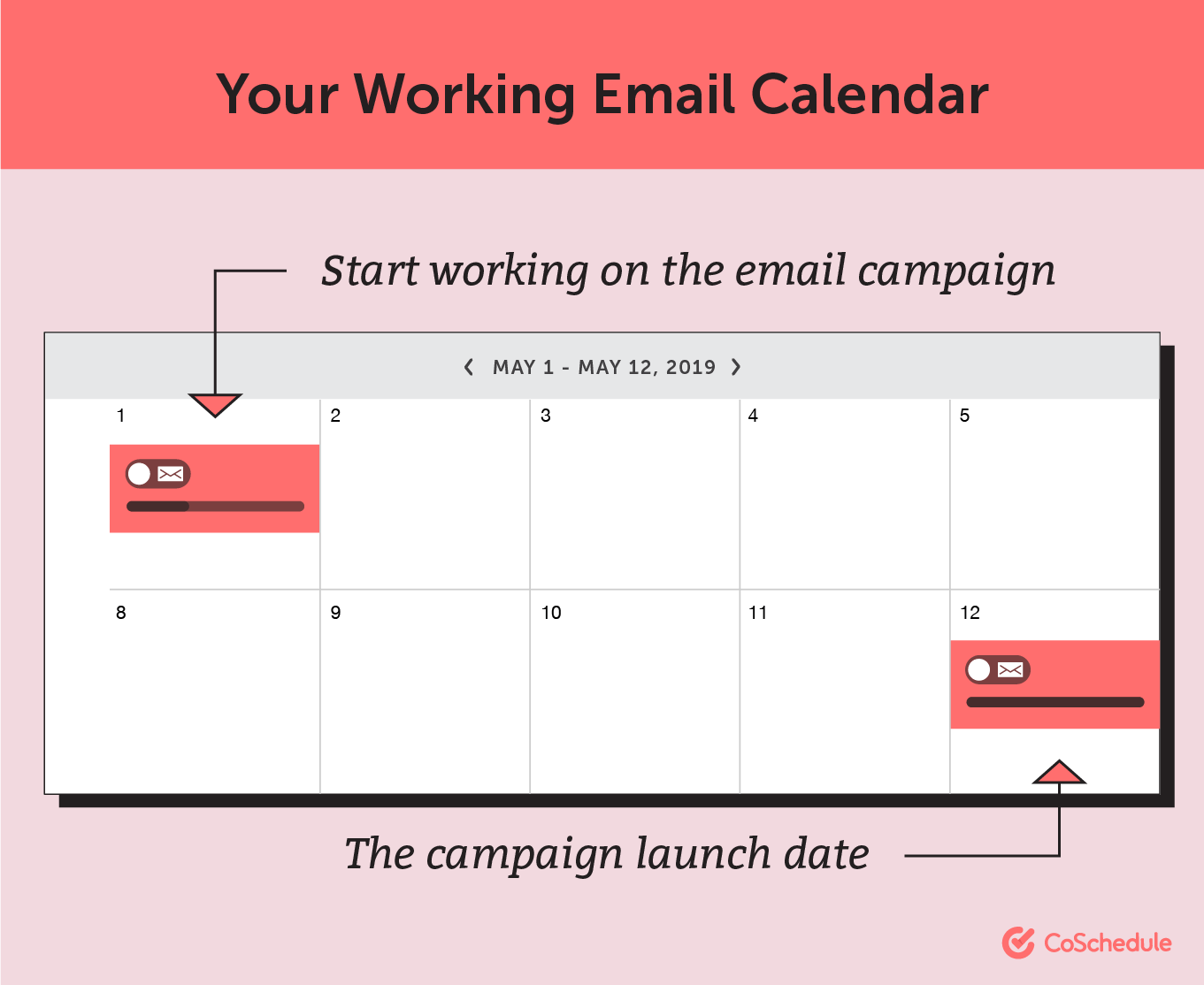 Your working email calendar
