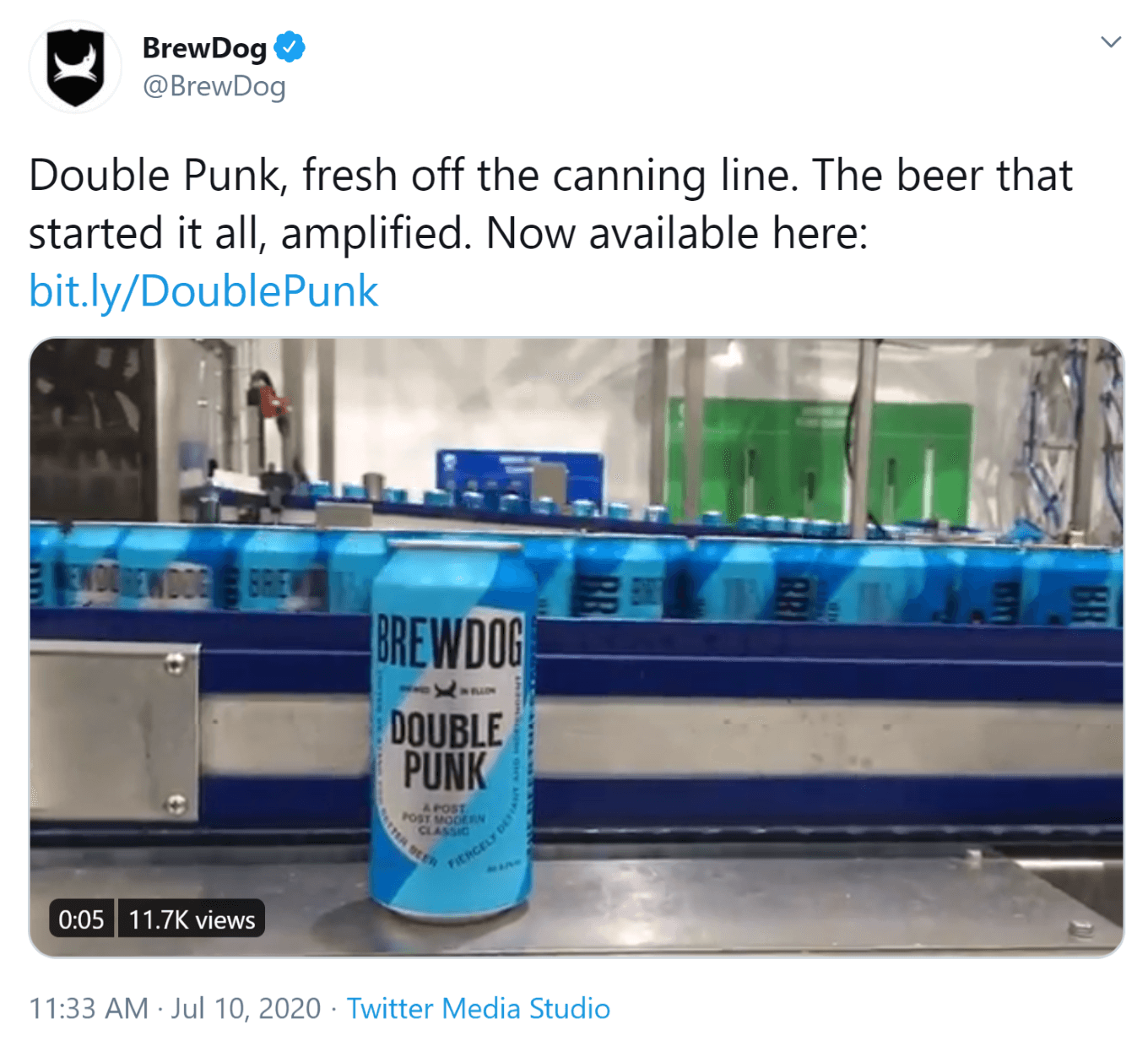 BrewDog - double punk