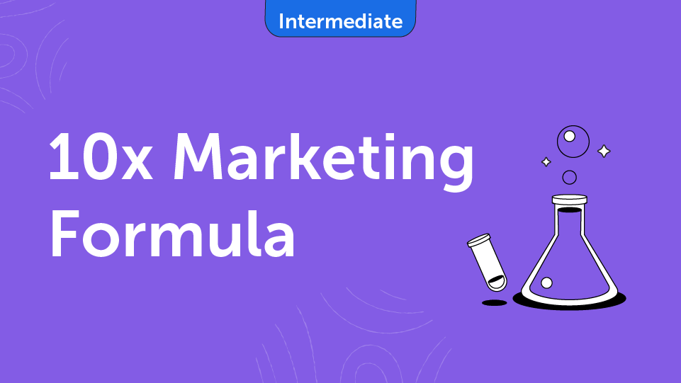 10x Marketing Formula Course Card