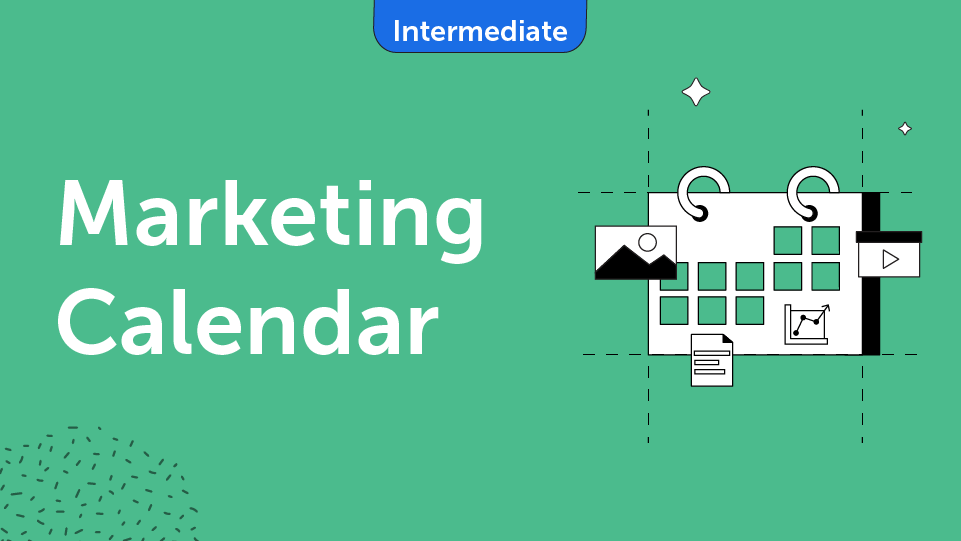 Marketing Calendar Course Card