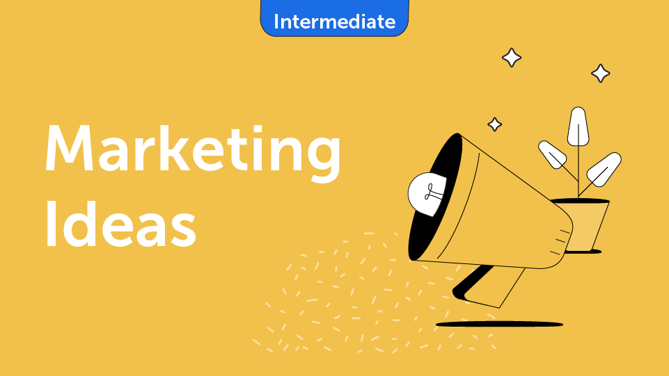 Marketing Ideas Course Card