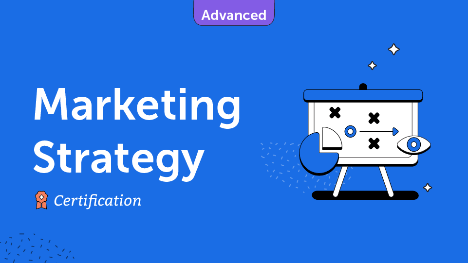 Marketing Strategy Course Card