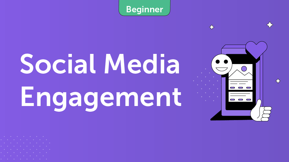 Social Media Engagement Course Card