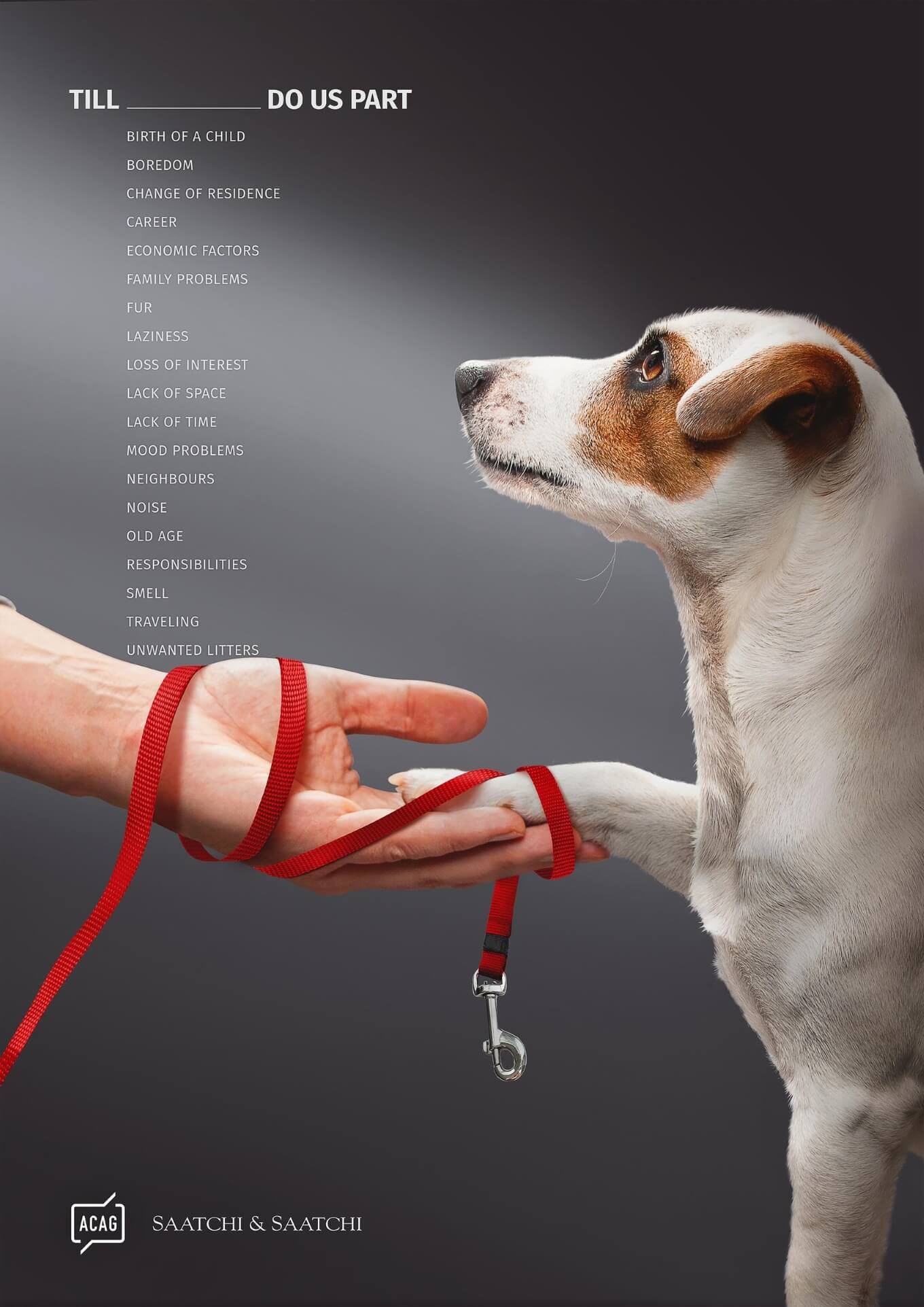 Saatchi and Saatchi - think before you adopt