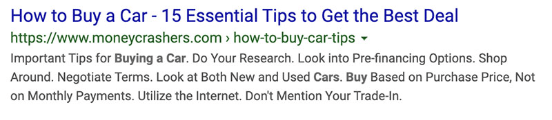 How to buy a car title tag