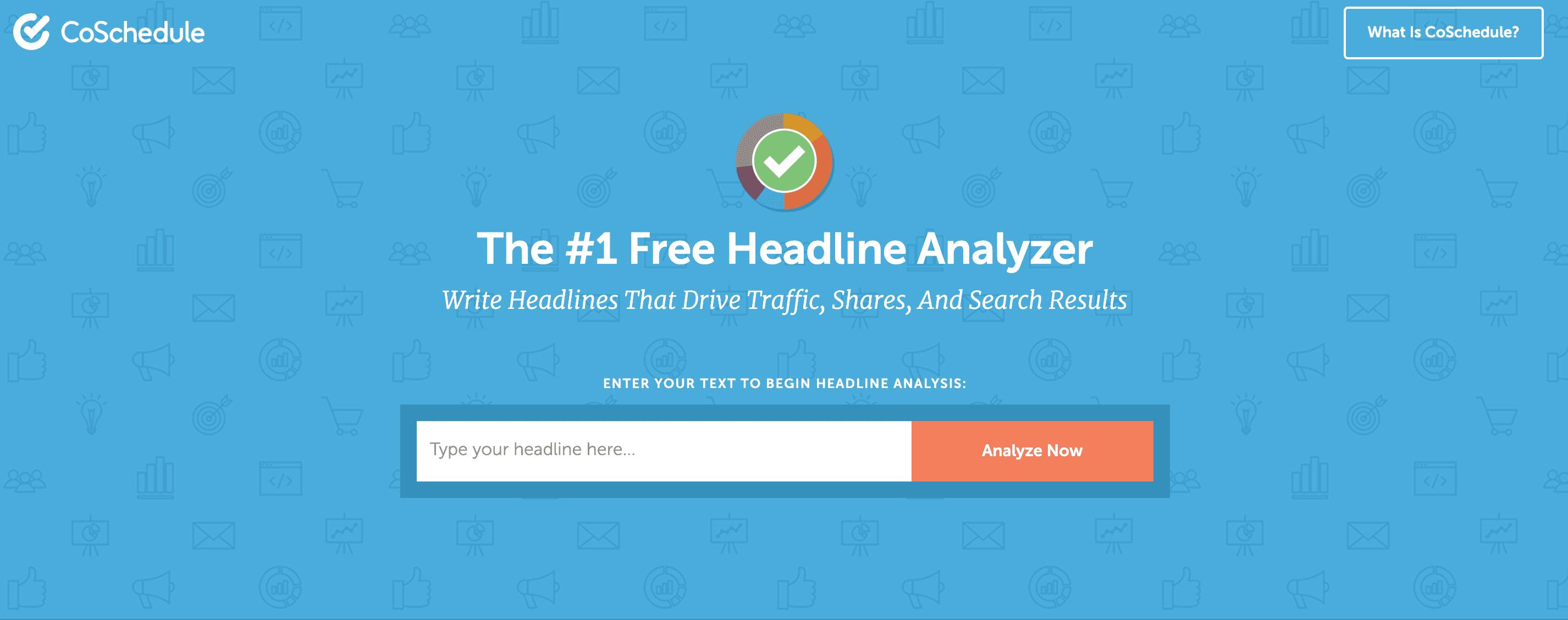 Blank Headline Analyzer