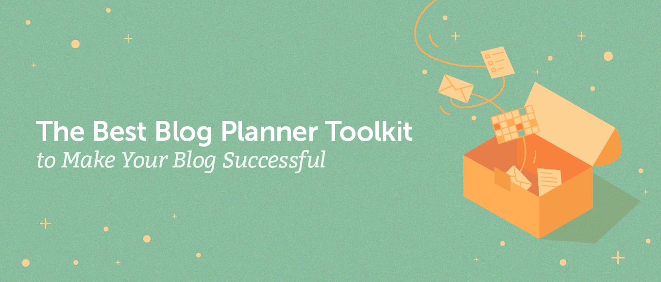 The blest blog planner toolkit (header)