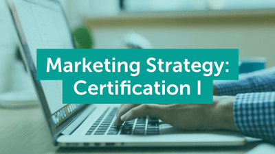 Marketing Strategy Certification Course Graphic