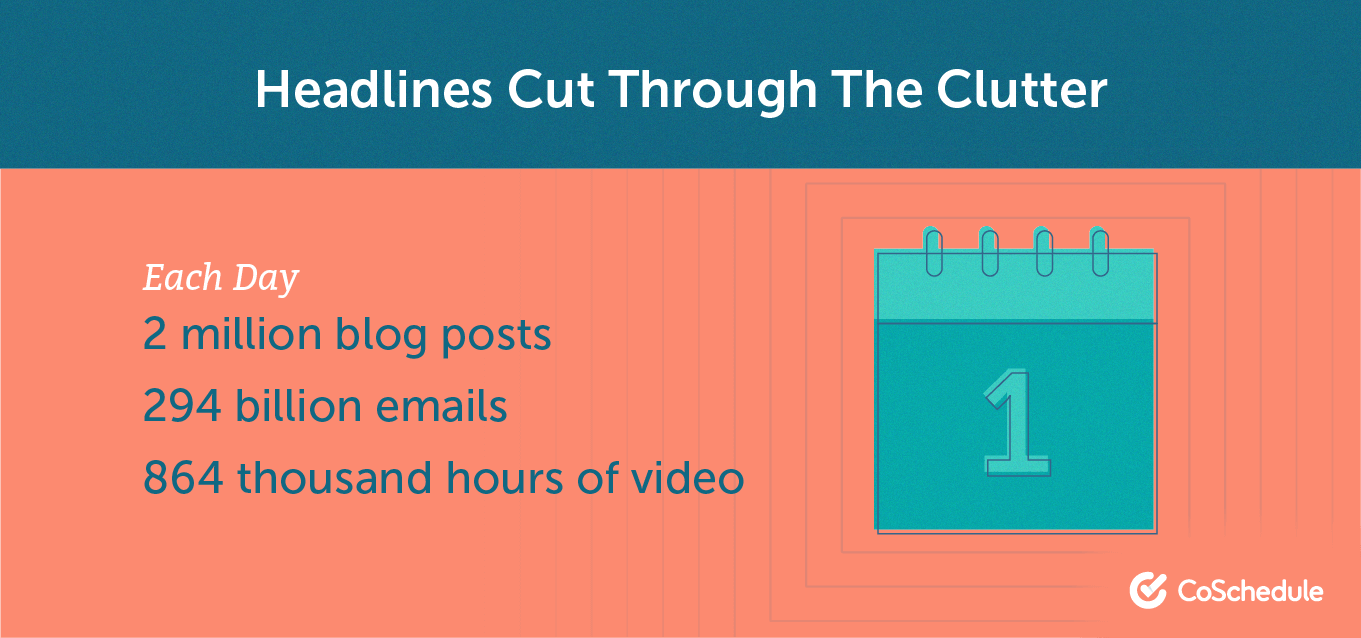 Cut the clutter in headlines