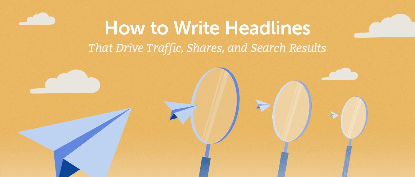 How to write headlines (header)