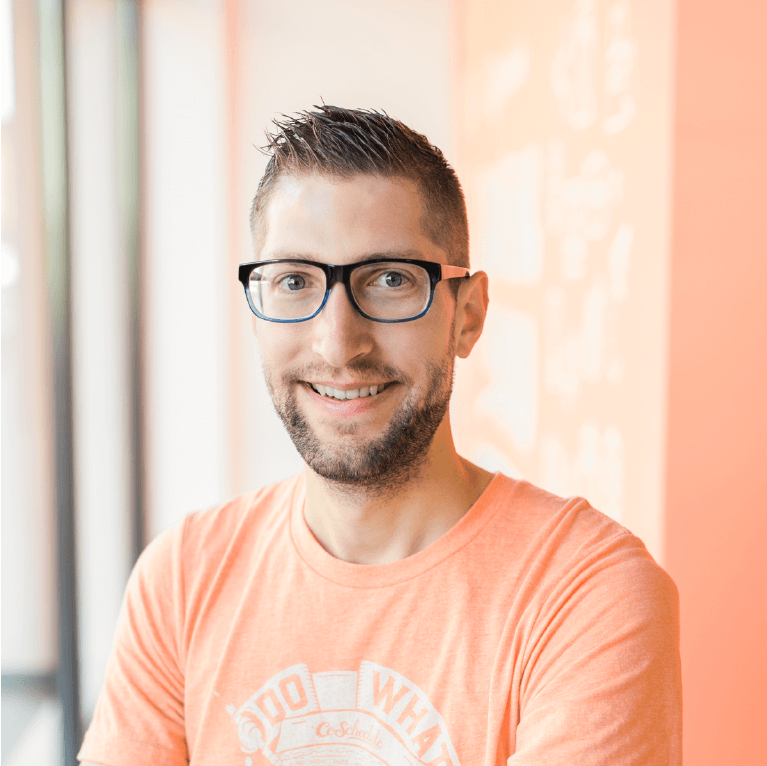 Nathan Ellering, Head of Marketing at CoSchedule