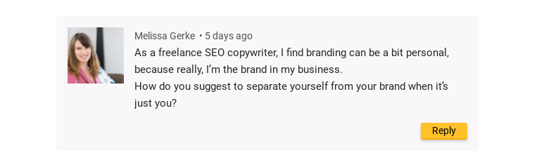 Comment on a Yoast blog post