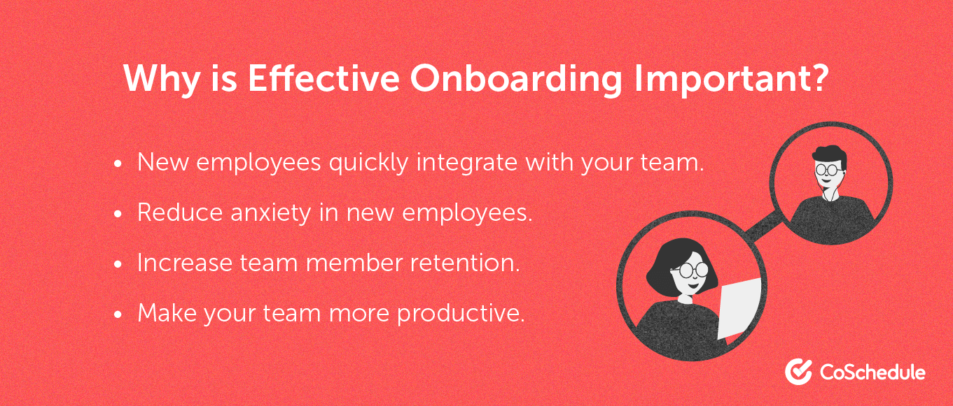 The importance of effective onboarding