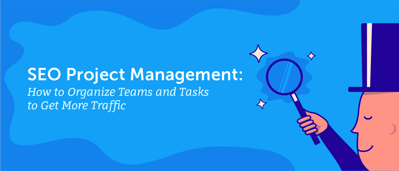 SEO project management header