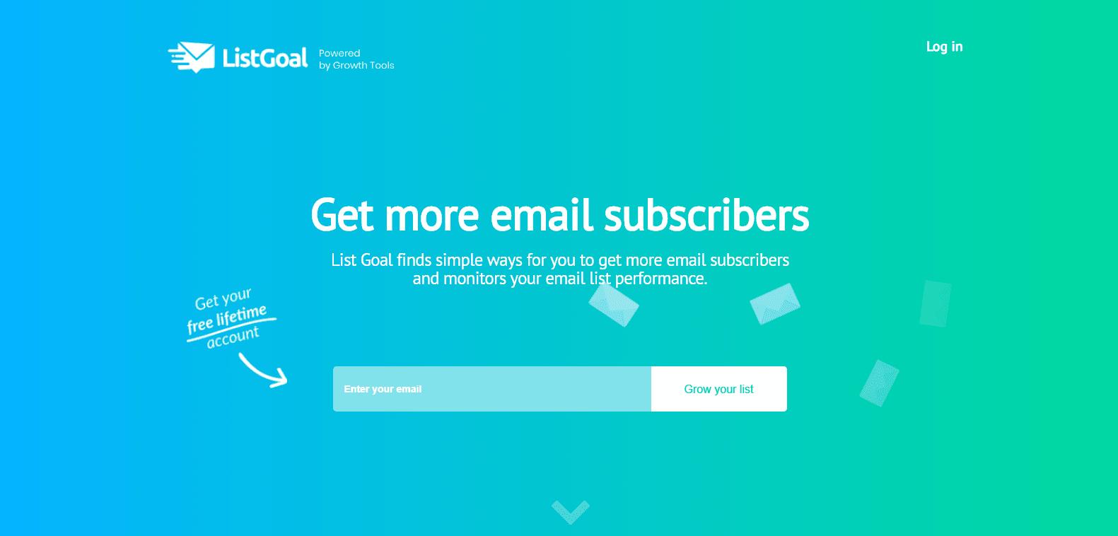 ListGoal web app