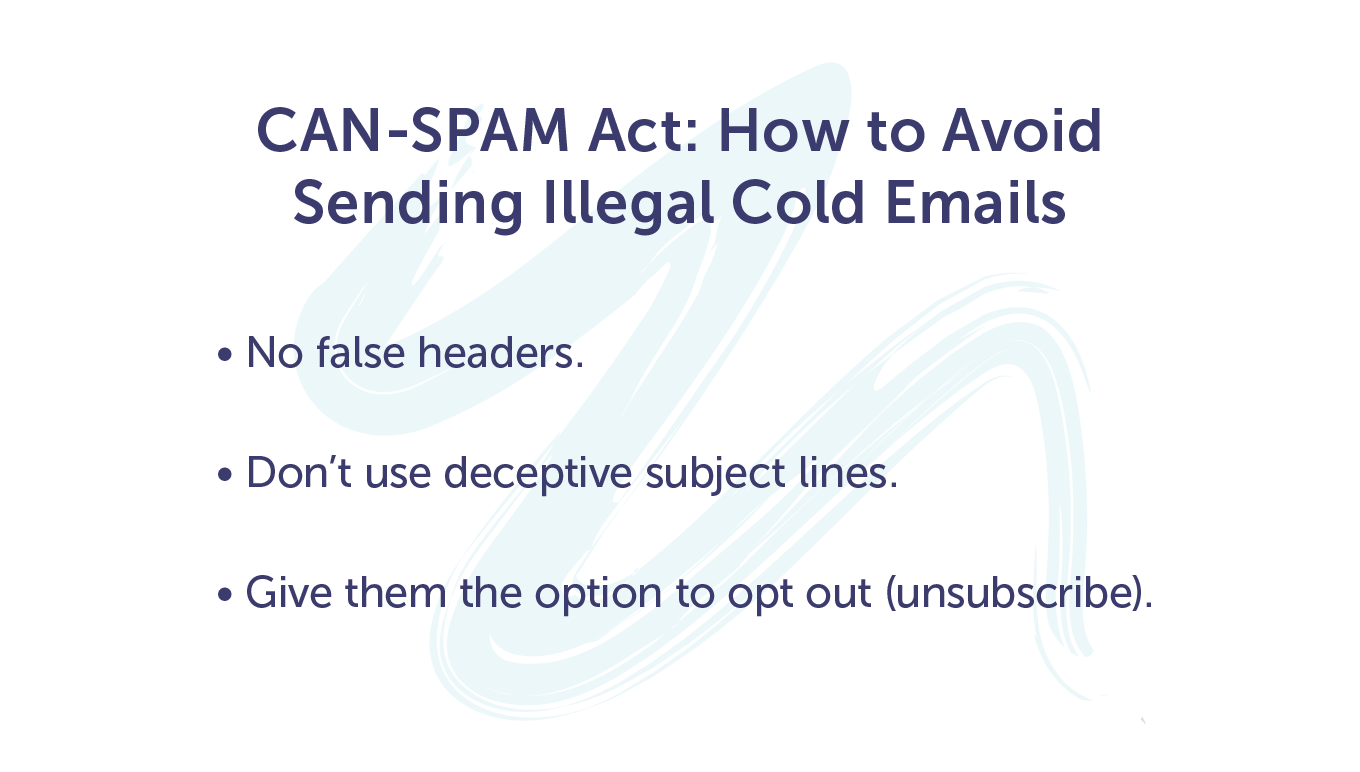 CAN-SPAM Act rules
