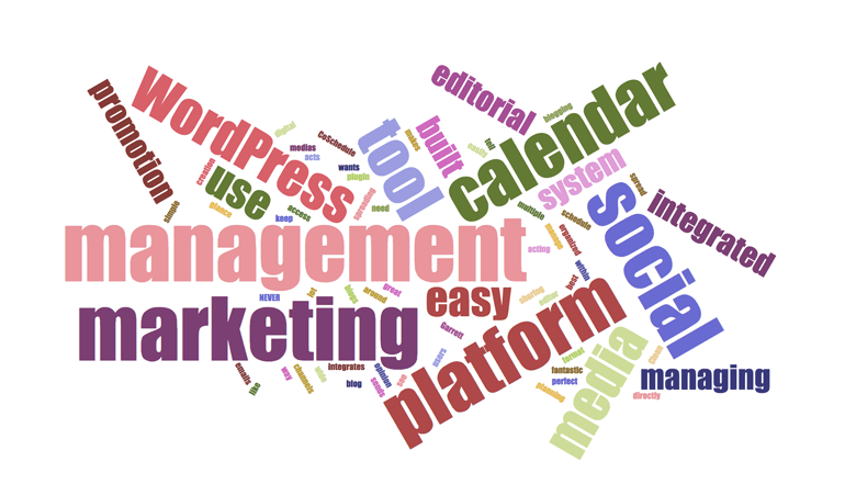 CoSchedule's Brand Positioning Word Cloud