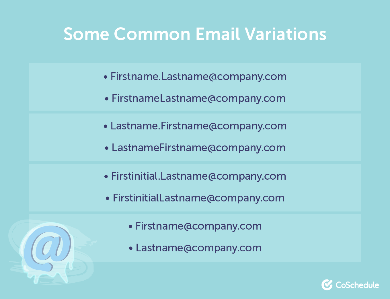 Email variations for cold emailing