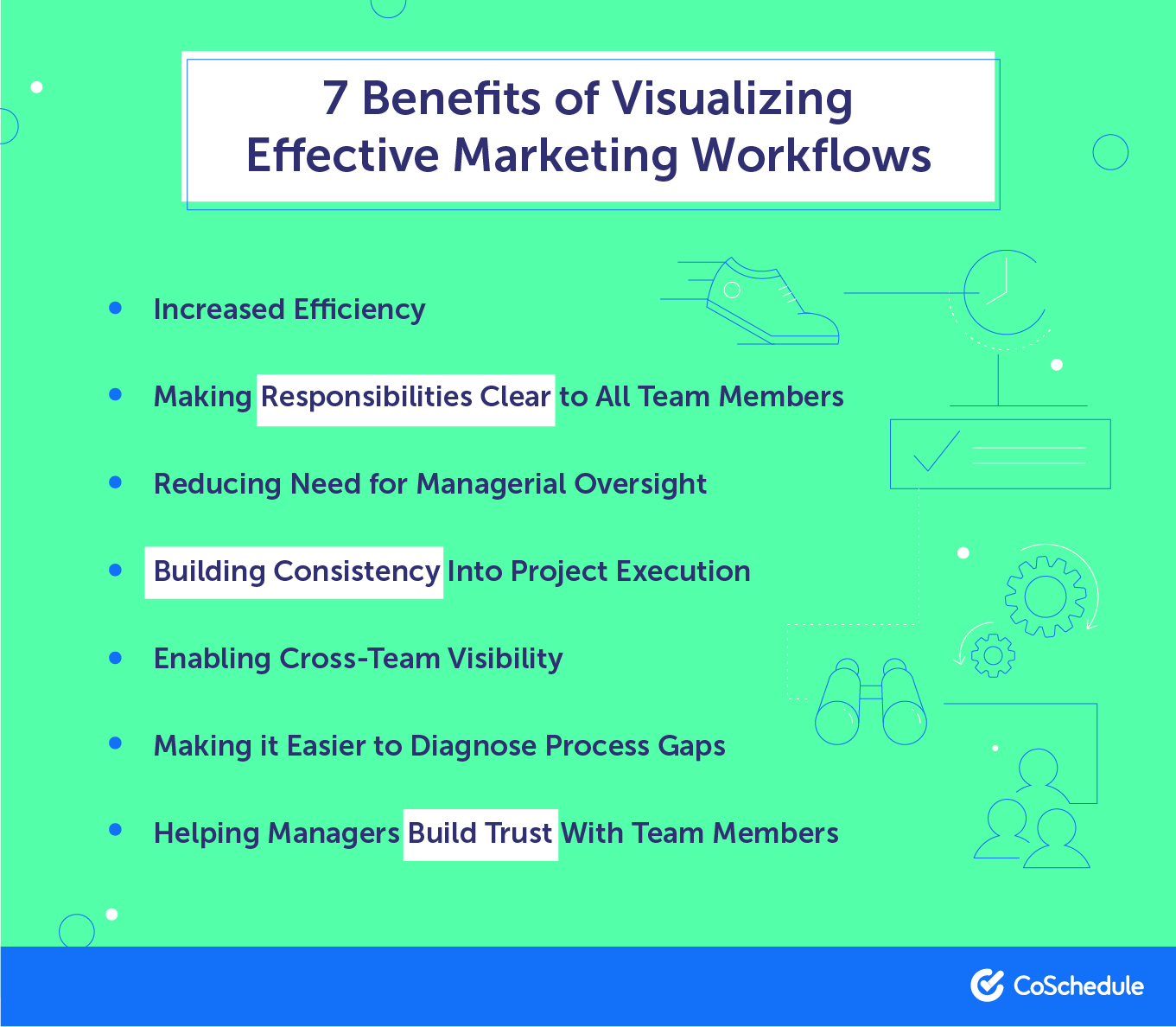 7 benefits of visualizing effective marketing workflows