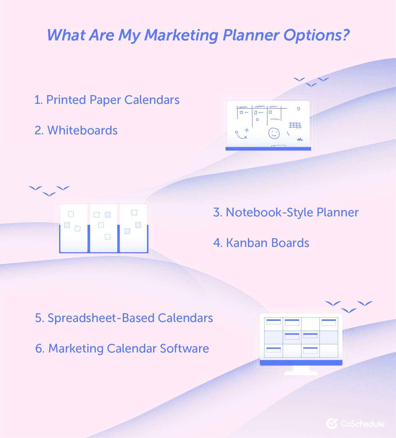 What you can use for marketing planning
