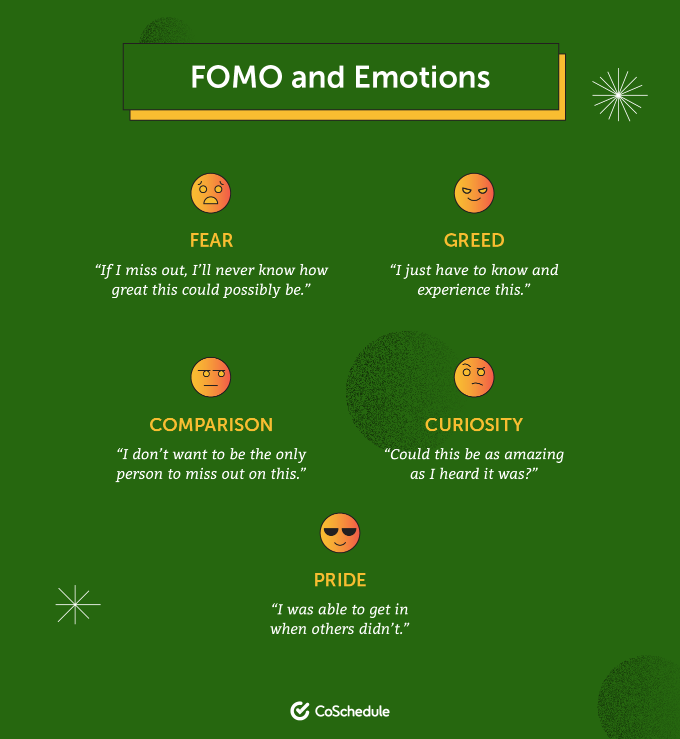 FOMO and emotions