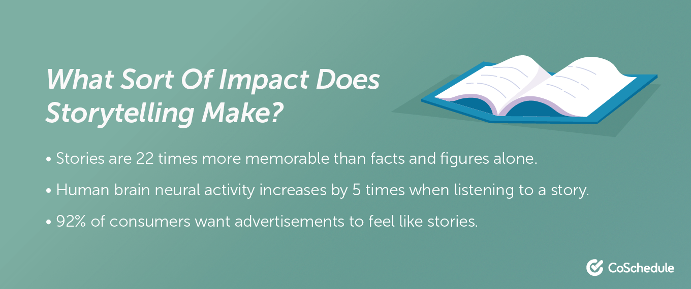 The impact of storytelling
