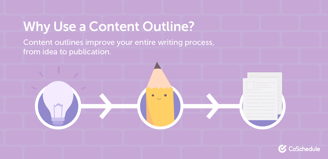 Why you should use a content outline