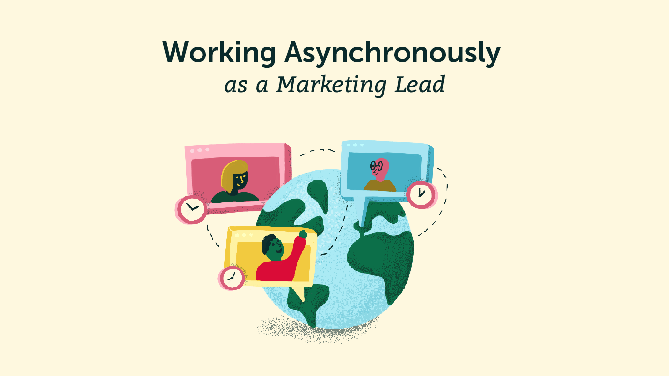 Being an asynchronous leader