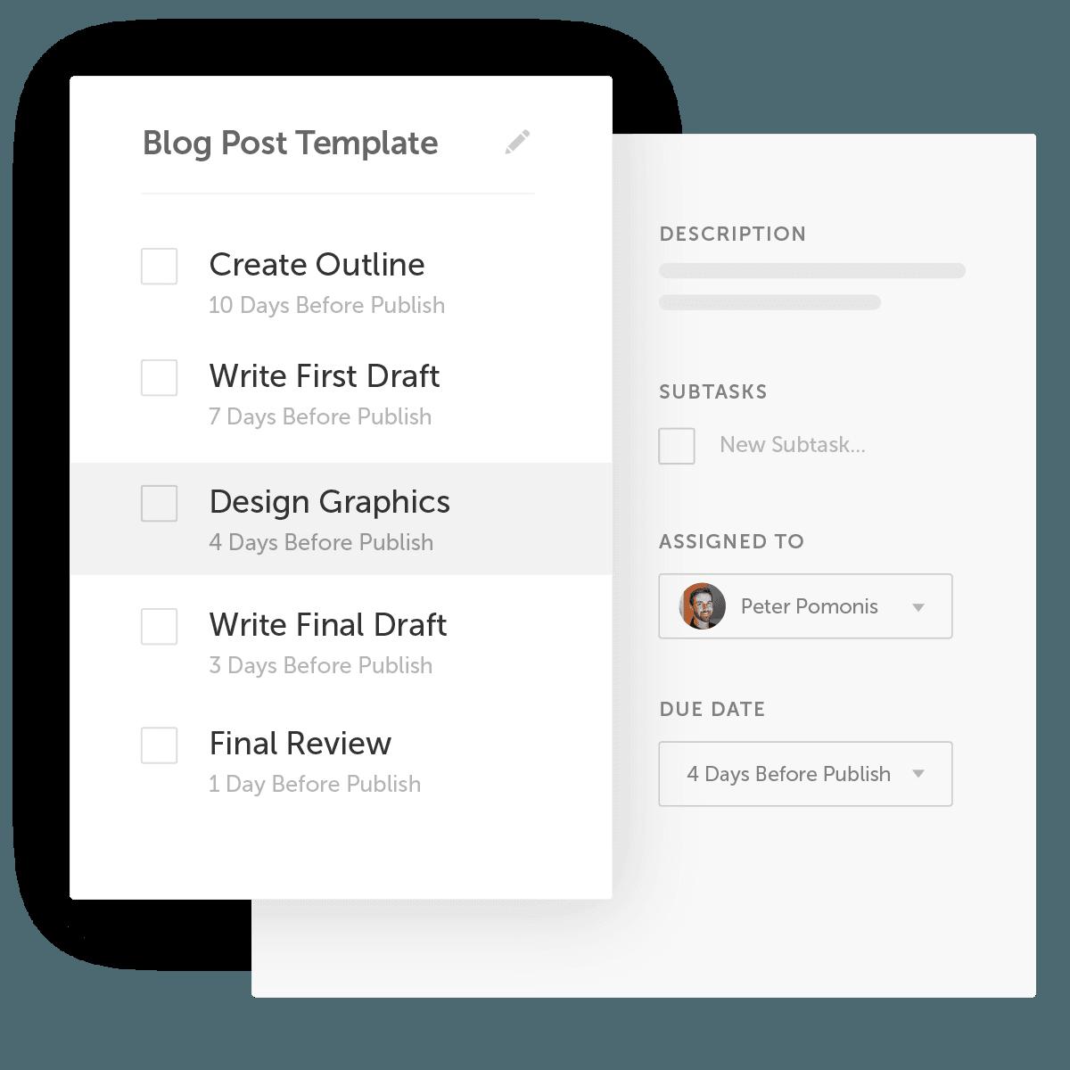 Task Templates