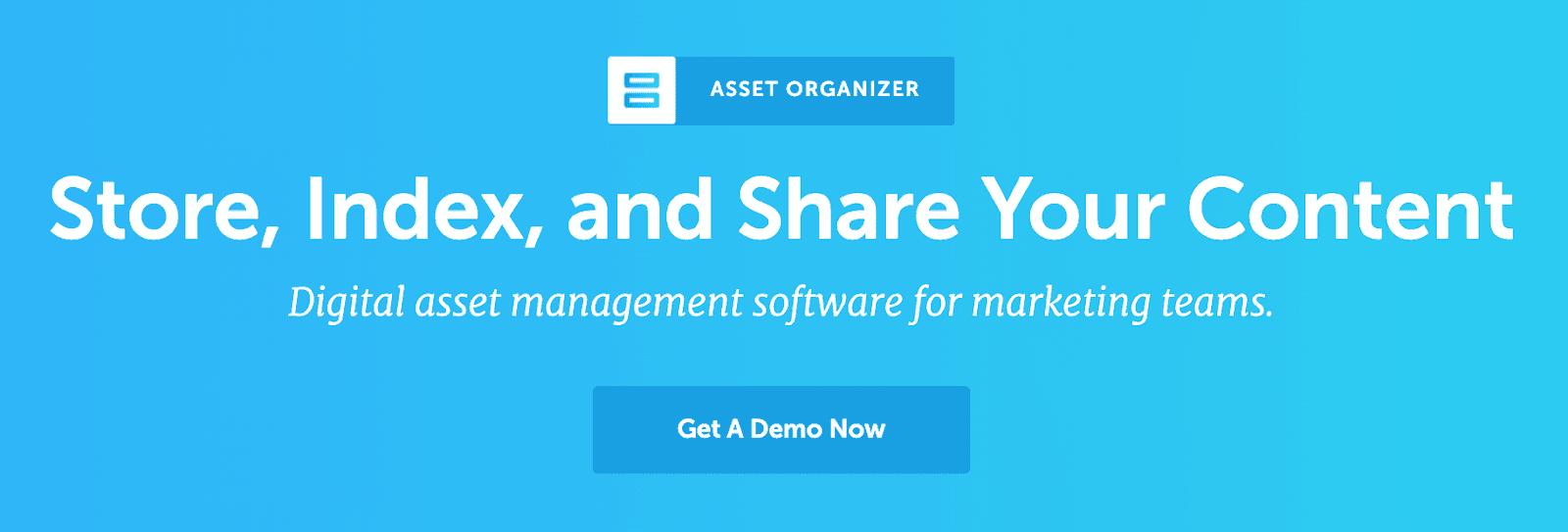 CoSchedule Asset Organizer