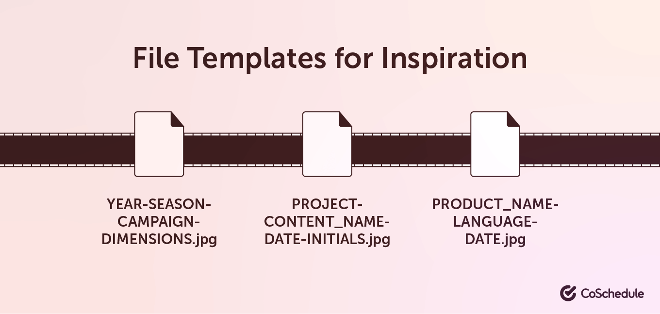 File templates for inspiration
