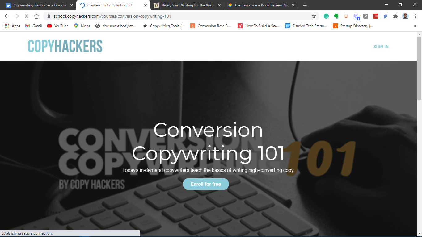 Copywriting for conversions 101