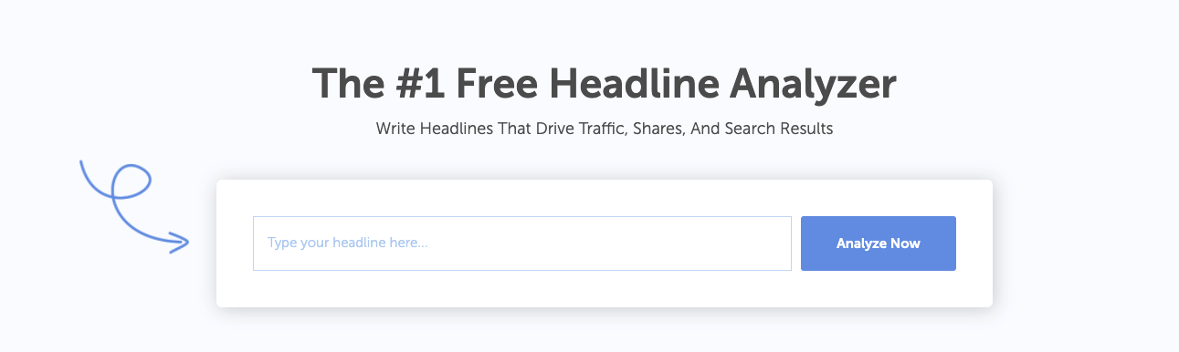 CoSchedule Headline Analyzer Studio