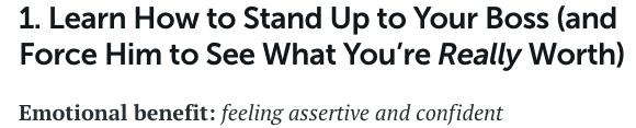 Belief headline