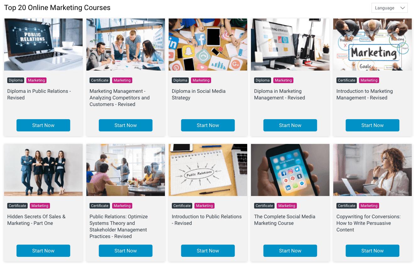 Alison Free Online Marketing Courses