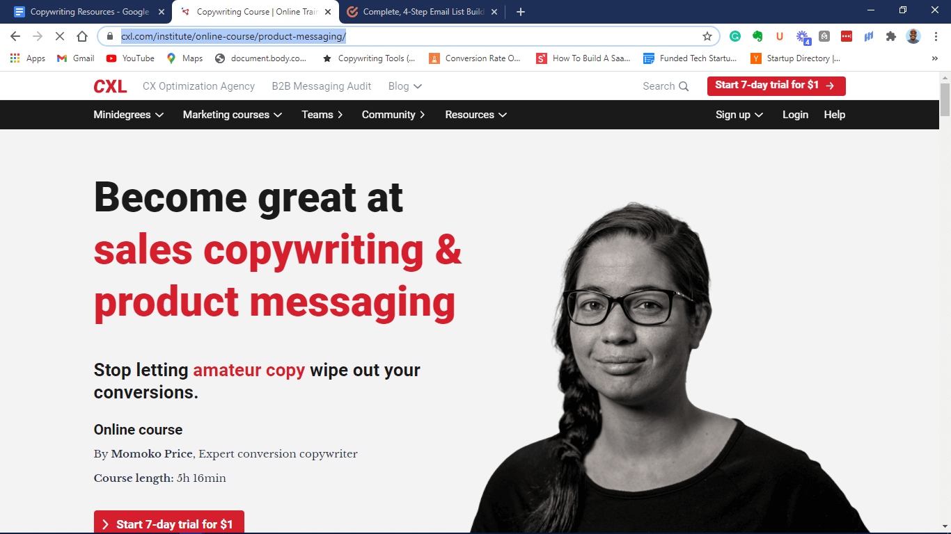 Sales Copywriting & Product Messaging